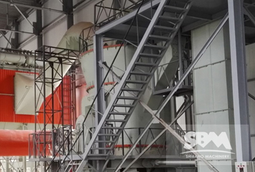 LM130K For 10tph 325 Mesh Powder Making For Power Station