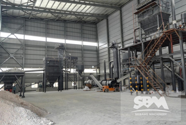 Quartz Grinding By Ball Mill For Ceramic Industry