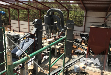 Limestone Grinding By PC Hammer Mill For Agriculture