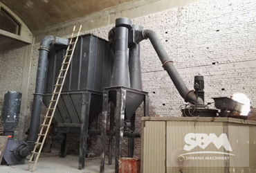 Talc Grinding By SCM800 Ultrafine Mill, For 500-600 Mesh Plastic Industry