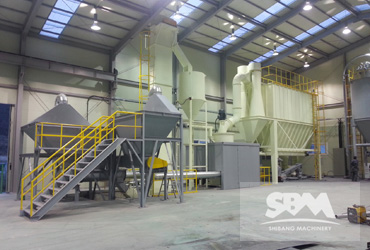 Dolomite Grinding By SCM1000 Mill For Paint