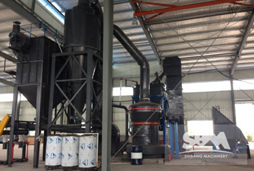 CaCO3 Grinding By MTW138 Mill For Mortar, Painting