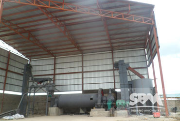 Feldspar Grinding By Ball Mill,7-8tph For Ceramic Industry