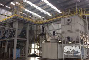 Carbon Black Grinding By SCM10036 Ultrafine Mill