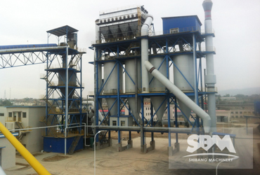 Coal Powder Grinding By LM Vertical Roller Mill