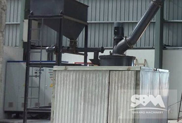 Calcium Carbonate Grinding By SCM800,1tph For Paints