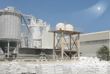 Gypsum Powder Grinding By LM Vertical Mill