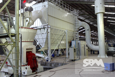 Silica Sand Grinding By LM130N Vertical Roller Mill In Indonesia