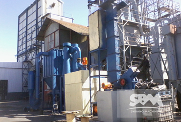 SCM800 Mill in Uzbekistan