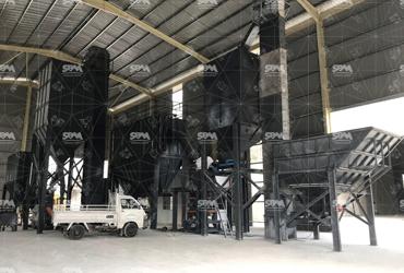 Calcium Carbonate Grinding By SCM1000 Coating Machine