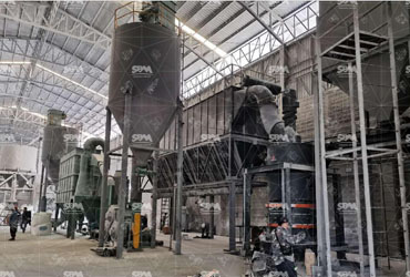 Calcite Application In Oil Drilling Industry With SCM1250 Ultrafine mill