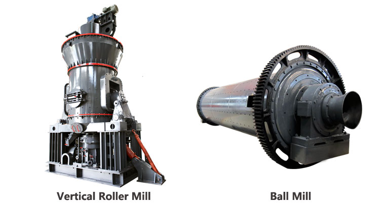 Vertical Roller Mill Or Ball Mill For Powder Processing