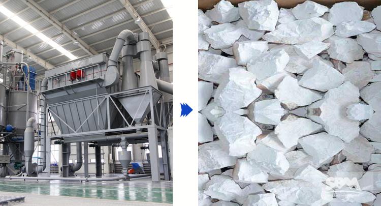 ultrafine mill for calcium carbonate processing