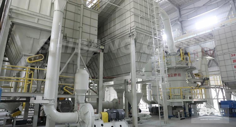 Project Case Of Grinding Mill Used In Non-metallic Mineral