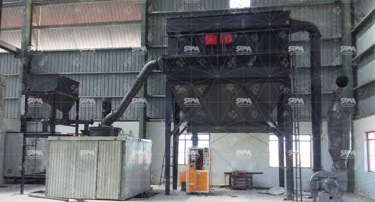 Process Design Scheme Of 600 Mesh Biochar Mill