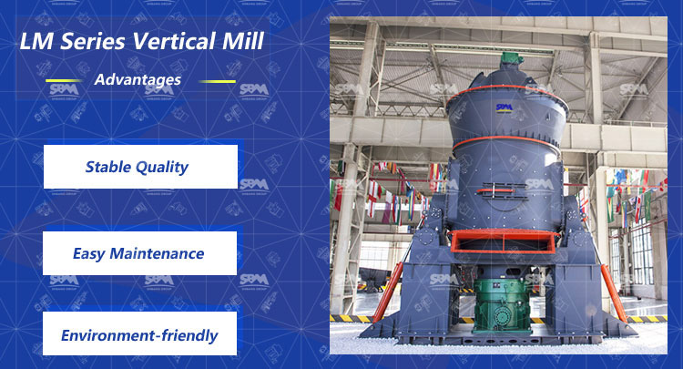 LM Vertical Roller Mill For Fly Ash Processing