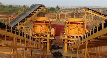 400 TPH Granite Crushing Production Line In Ghana