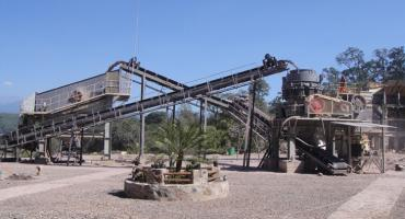 180TPH Granite Crushing Production Line In Mexico