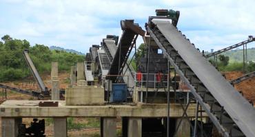 150TPH Granite Crushing Production Line In Nigeria