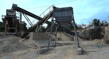 120tph Granite Concrete Production Line In Myanmar