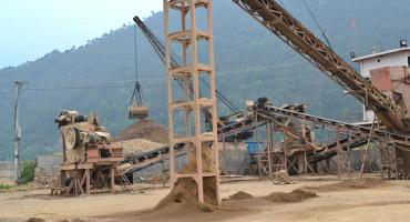 300TPH River Pebble Crushing Project Case In China