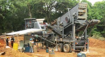 600TPH Limestone Crushing Production Line