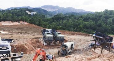400-500TPH Granite Crushing Processing Production Line