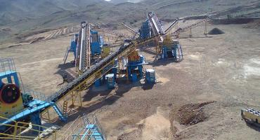 300TPH Crushing Plant In Saudi