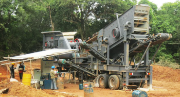 50TPH Construction Aggregate Crushing Production Line In Sri Lanka