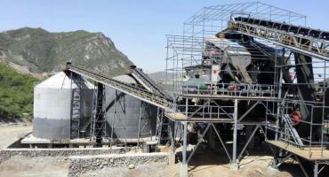 800-1000TPH Limestone Crushing Sand Production Line