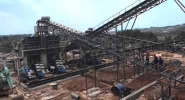 500TPH Gravel Aggregate Production Line