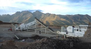180TPH Mobile Crushing Production Line In Peru
