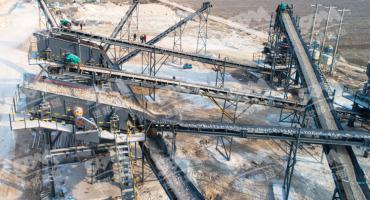 250TPH Granite Crushing Production Line In China