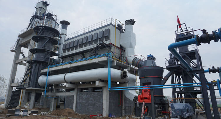 Used Calcium Carbonate Processing Machine
