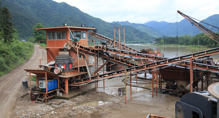 Basalt Gravel Crushing Plant